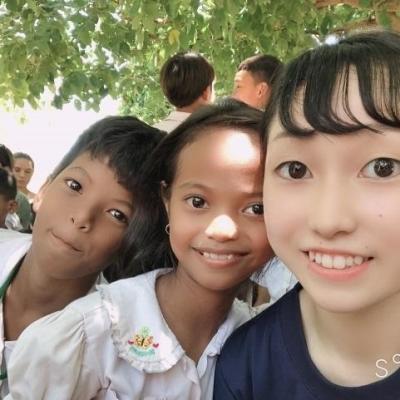 カンボジアで公衆衛生 藤井美優